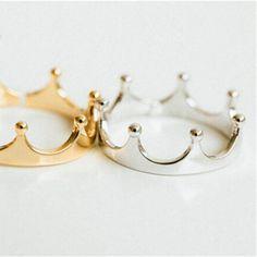 Anillo Queen Plata💍 5 € 💍 https://pixidixi.com/anillo-queen-plata/
