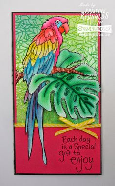 Created by Kristine Reynolds with Dreamweaver and Stampendous. #cre8time #stampendous
