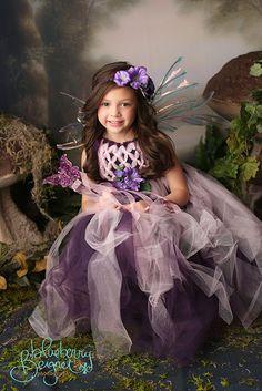 Fairy dress tulle dress Raspberry Fairy от enchantedfairyco