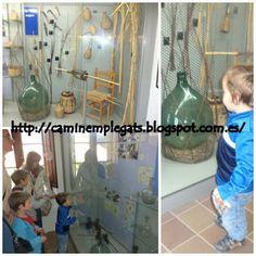 Caminem plegats: Forn i museu  del  vidre ( Vimbodí)  i Coves de l'...