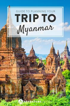 Myanmar is amazing! If you're travelling there, her's our guide of everything you need to know!