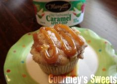 How to make Caramel Apple Streusel Cakes