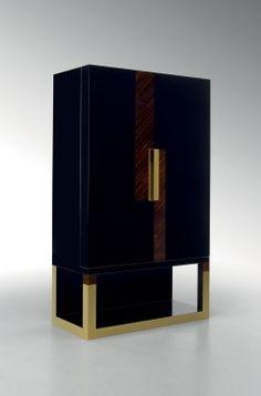 'New York' Cabinet  :  Fendi Casa  Shown at Salone Imternazionale Mobile - Milan