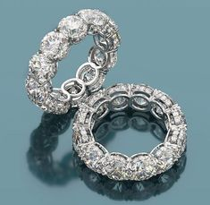 Diamond eternity rings starting from $1000 and up #DiamondEternityRings