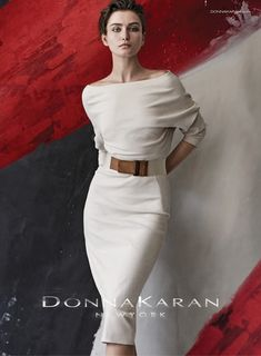 b22fdc9ade68 Andreea Diaconu is photographed by Peter Lindbergh for Donna Karan  Spring Summer 2015 Ad Campaign.