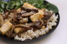 Eggplant and Tofu in Miso Sauce