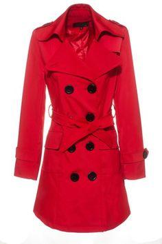 LANHUACAO Trench Coat Womens ($60)