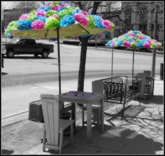 frou-frou umbrella