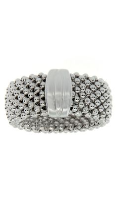 Silver Mesh Ring by Savvy Cie