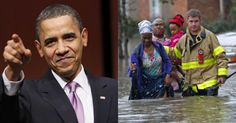 SICK: Obama SCOLDS Louisiana Flood Victims… Warns Them Not to Do THIS