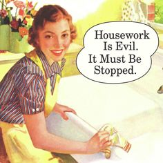 National No Housework Day! Save 15% TODAY with code #nowork at checkout!!