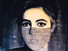 Edie by Lida Alexopoulos Mona Lisa, Gallery, Artwork, Paintings, Monuments, Work Of Art, Roof Rack, Auguste Rodin Artwork, Paint