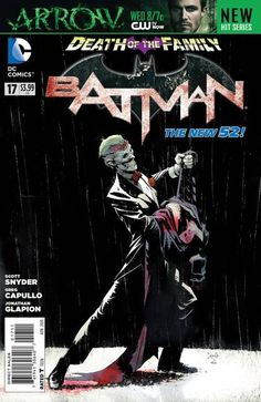 Batman #17 - The Punchline released by DC Comics on April 2013.