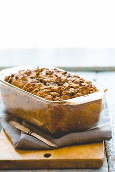 Healthy Pumpkin Chocolate Chip Bread | White whole-wheat flour | Baking |Snack | Fall | Best of Healthy Seasonal Recipes
