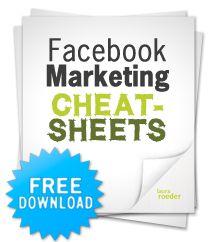 Facebook marketing Cheatsheets PDF