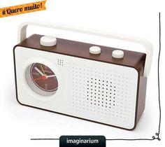 Quero muito: despertador gravador retrô.