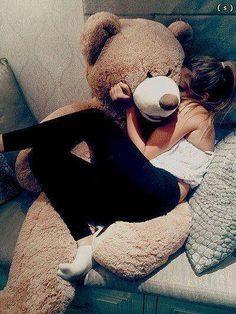 A big teddy bear<3