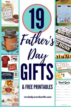 Looking for unique, thoughtful Father's Day gifts? We have 19 ideas you can make or purchase for Dad. Cheap Fathers Day Gifts, Homemade Fathers Day Gifts, Fathers Day Presents, Fathers Day Crafts, Gifts For Husband, Gifts For Boys, Man Gifts, Gifts For Pastors, World's Greatest Dad