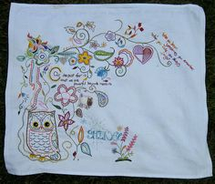 Great free-form sampler idea that I'm going to steal.  #embroidery #sampler