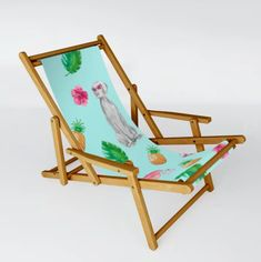 Butterflies 03 Patio Sling Chair by Aloke Design - One Size Outdoor Chairs, Outdoor Furniture, Outdoor Decor, Folding Stool, Butterfly Pattern, Recliner, Hammock, Backyard, Patio