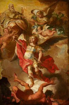Archangel Michael...I just love this brave soldier of Almighty God.