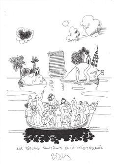 « Ghost ships of the Mediterranean – Les bâteaux fantômes de la Méditerranée »  Frank Eric Zeidler