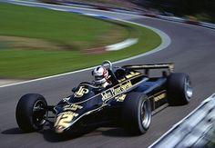 Nigel Mansell (F-1 Lotus 91) Zelweg 1981