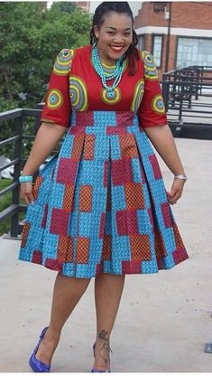 18 African Prints Styles For The Plus Size Woman African Fashion Designers, African Inspired Fashion, African Dresses For Women, African Print Dresses, African Print Fashion, Africa Fashion, African Attire, African Wear, African Fashion Dresses