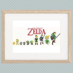 Hey, I found this really awesome Etsy listing at https://www.etsy.com/listing/218785689/link-evolution-cross-stitch-pattern