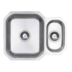 Belfry 59.4cm x 46cm 1.5 Bowl Undermount Kitchen Sink