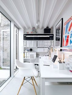 perfectly organized office #organize #officedecor #Workspace
