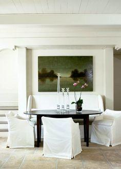 Sillas vestidas, un recurso excelente... / melanie turner interiors / eclecchic