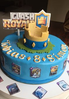 Cake clash royale por ivana valdone