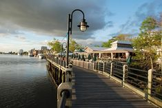 Wilmington, NC Cape Fear boardwalk. Do the Segway tour!...awesome!
