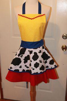 Jesse costume apron by AJsCafe on Etsy, $35.00