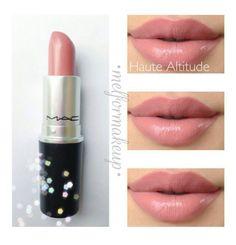 MAC lipstick Haute Altitude. This looks pretty
