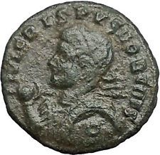CRISPUS son of CONSTANTINE the GREAT 322AD Ancient Roman Coin Trier i54833