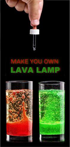 Machen Sie eine Lava-Lampe - science projects for kid - Science Science Crafts For Kids, Educational Activities For Kids, Science Fair Projects, Educational Crafts, Educational Websites, Stem Activities, Toddler Activities, Lava Lamp For Kids, Make A Lava Lamp