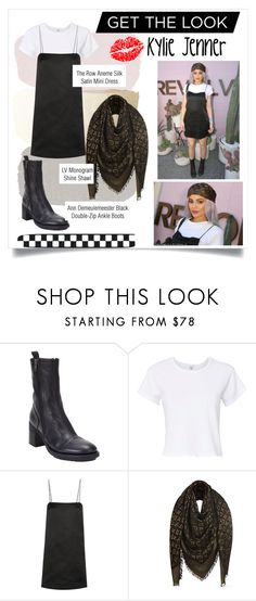 """""""Kylie Jenner GTL"""" by assylajean ❤ liked on Polyvore featuring Ann Demeulemeester, RE/DONE and The Row"""