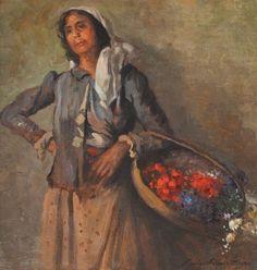 Nicolae Vermont, Florăreasa - Licitația de Mărțișor - Partea I - Arhivă rezultate Vermont, Blog, Painting, Gypsy Soul, Flower Girls, Mai, Europe, Search, Art Women