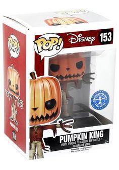 Funko Pop! - GITD Pumpkin King Limited 153 - Funko Pop! van The Nightmare Before…