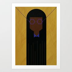 GIRLS #2 Art Print by The Bearded Bird. - $14.00