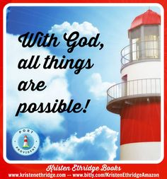 """Verse of the Day:   Jesus looked at them and said, """"With man this is impossible, but with God all things are possible."""" --Matthew 19:26  What's possible in your life today?"""