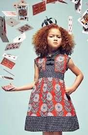 "What a card! The Redfish ""Party Dress"" - Redfish Kids Dresses African Inspired Fashion, African Print Fashion, African Fashion Dresses, African Dresses For Kids, African Children, Girls Dresses, Moda Afro, 168, Princess Dress Kids"