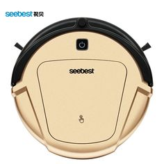 199.50$  Buy here  - Wet/Dry Ultra Fine Air Filter Robot Vacuum Cleaner with Gyroscope Navigator System LCD Remote control Anti fall and collision