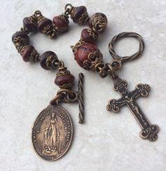 All Beautiful Catholic Beads: Past Rosary Bracelets Gallery