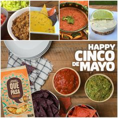 Happy Cinco de Mayo everyone! Be sure to enter our giveaway to win a delicious Que Pasa Foods prize pack. Plus check out all our delicious fiesta food ideas - pics on top, left to right - lentil taco filling, nach-no cheese, refried beans, and key lime cream cakes... yummmm! www.thetwokitchens.com/latest-news/que-pasa-giveaway/  #thetwokitchens #plantpower #plantbased #vegan #cincodemayo #quepasafoods #everydayfiesta #giveaway #veganqueso #recipes #chips #salsa #vegetarian #whatvegans