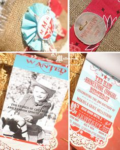 Custom invites by Paper Princess Studio