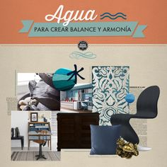 Feng Shui: Coordenada Norte | Casa Feng Shui, Furniture Design, Yoga, Interior Design, Color, Ideas, Home Decor, Water Element, Pumpkins