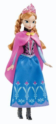 Disney Frozen Anna Sparkle Doll Disney Frozen http://www.amazon.co.uk/dp/B00C6Q5S44/ref=cm_sw_r_pi_dp_6IE4tb15BZZN7